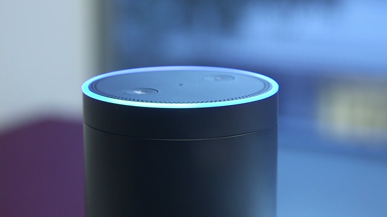 An Amazon Echo device is pictured in this undated file photo.