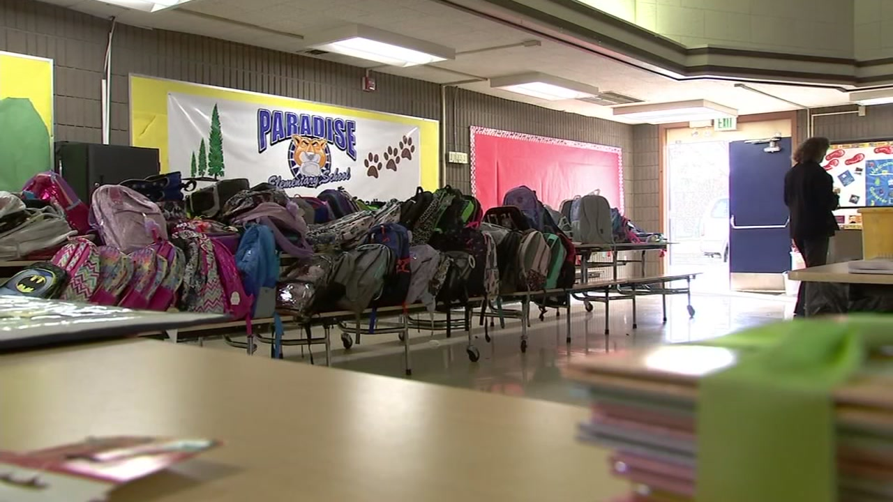 Preparations are underway in Butte County to get Paradise students affected by the Camp Fire back to school next week.