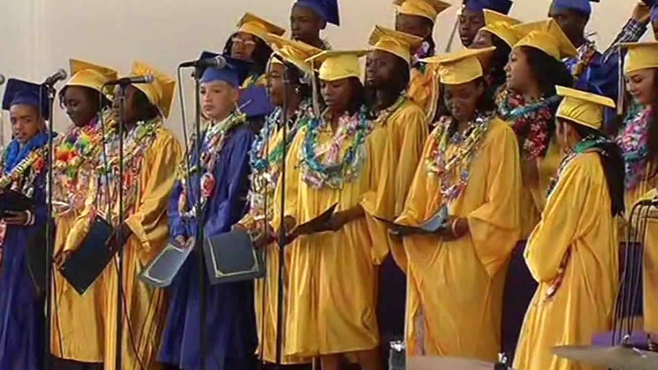 Jahi McMaths 8th grade graduation