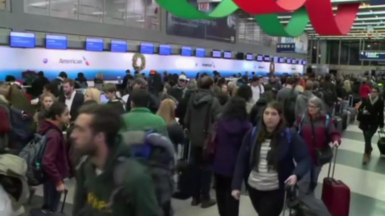 A record number of people are travelling this holiday season according to AAA. Over 100 million people across the U.S. are traveling.