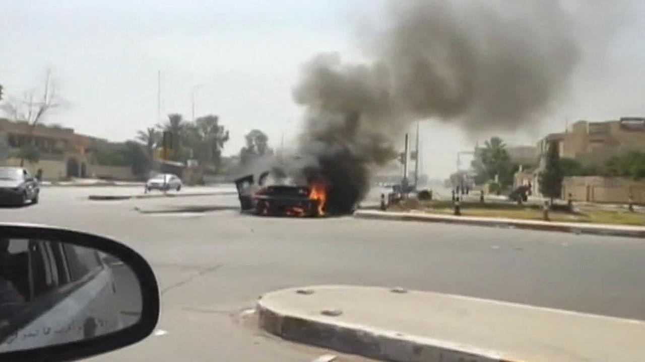 Balad, Iraq carfire