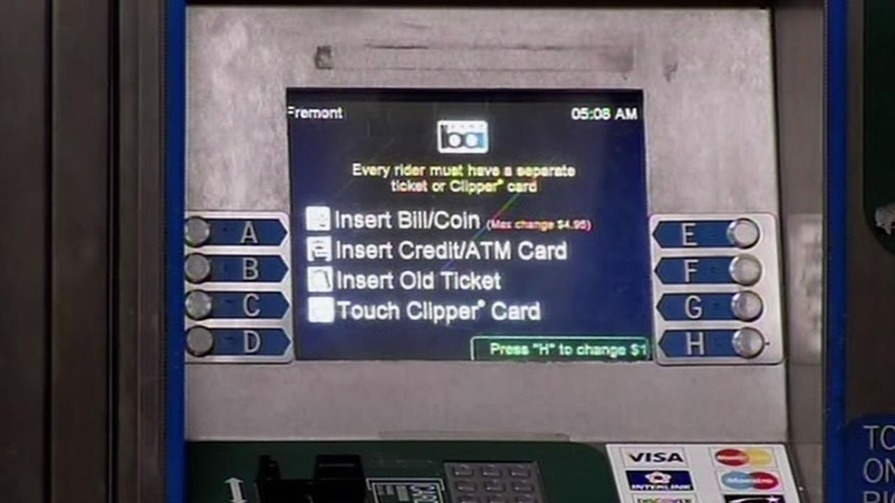 BART ticket machines