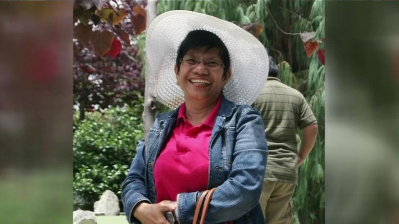 Aurora Bermudez, 65, was killed while crossing Hesperian Boulevard in Hayward, Calif. on Monday, December 28, 2015.