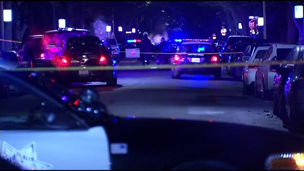 Police say a man shot and killed by officers in Palo Alto, Calif. on Friday, December 25, 2015 called 911 earlier to report a false emergency.