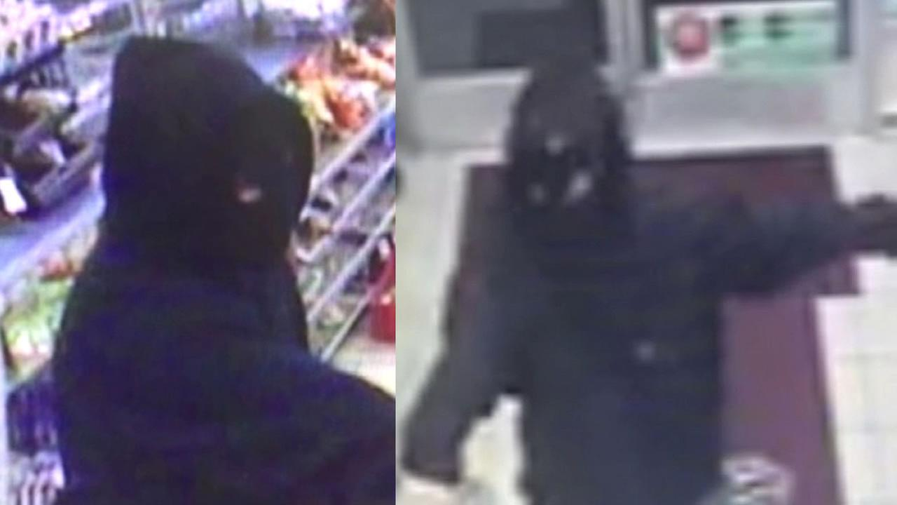 Gas station robber in East Bay
