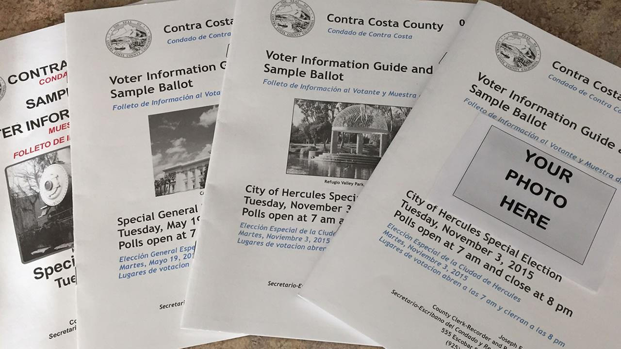 Contra Costa County voter information guide