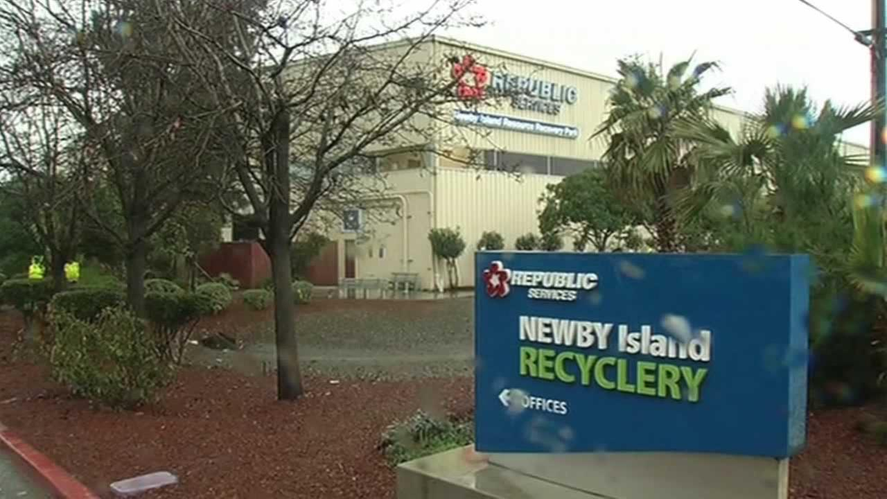 A body was discovered in San Jose, Calif. on Wednesday, January 6, 2016 at the Newby Island Recyclery.