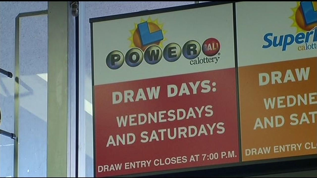 A sign for Powerball is seen in Union City, Calif. on Thursday, January 7, 2016.