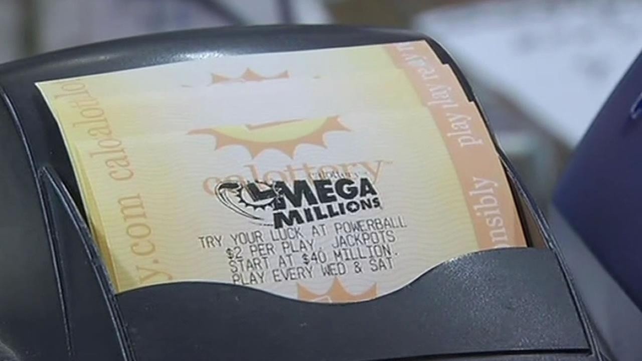 MegaMillions lottery ticket