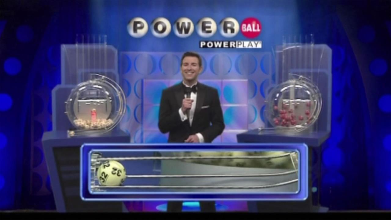 Winning numbers drawn in Powerball jackpot