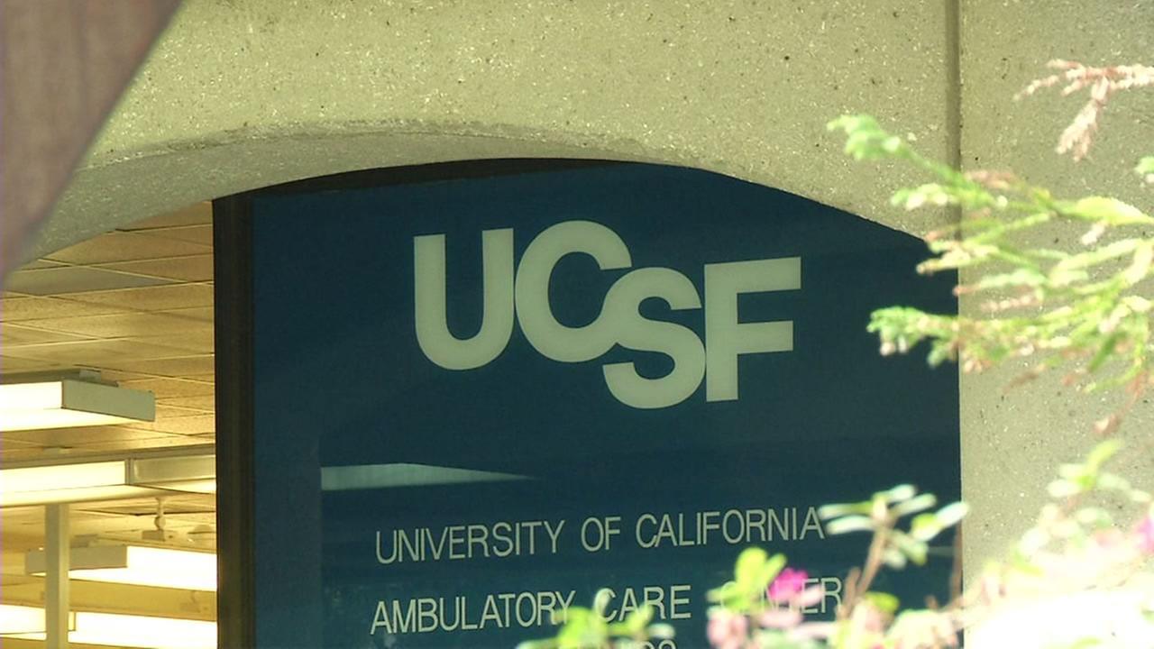 (FILE) University of California San Francisco Parnassus campus.