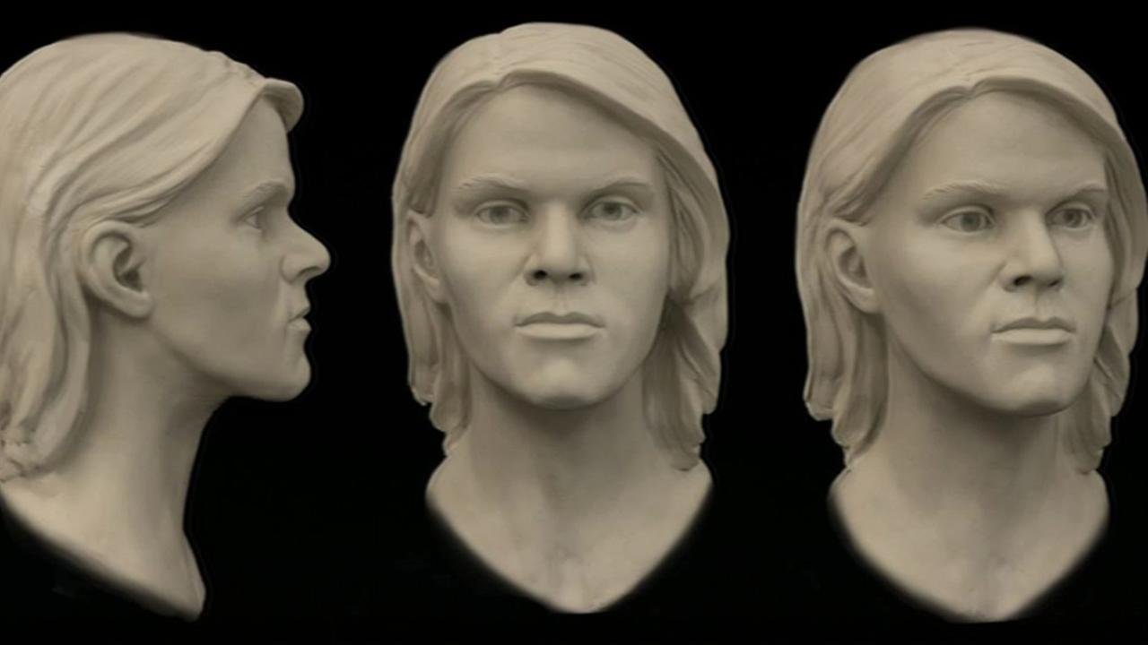 Facial reconstruction of the remains of a still-unidentified young female found on the side of state Highway 9 near Saratoga in 2014 are seen in this undated image.