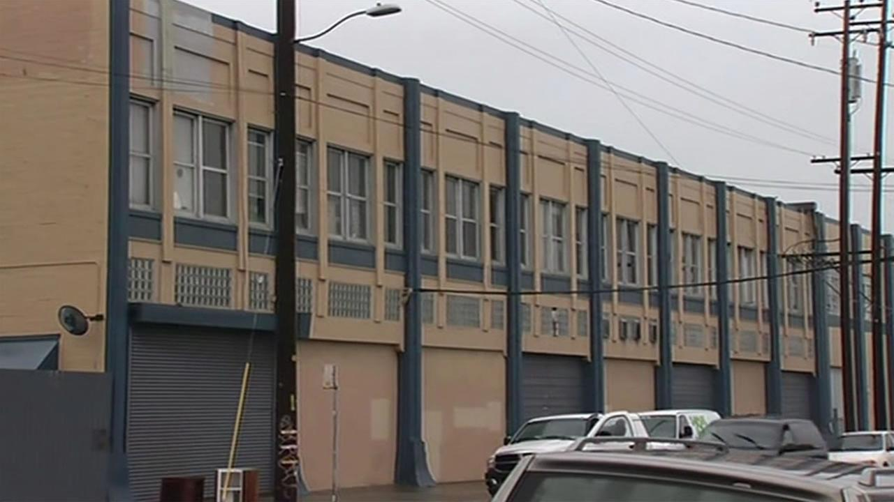 This image shows an Oakland, Calif. loft where residents are being forced to move out because the building is being red-tagged Jan. 29, 2016.