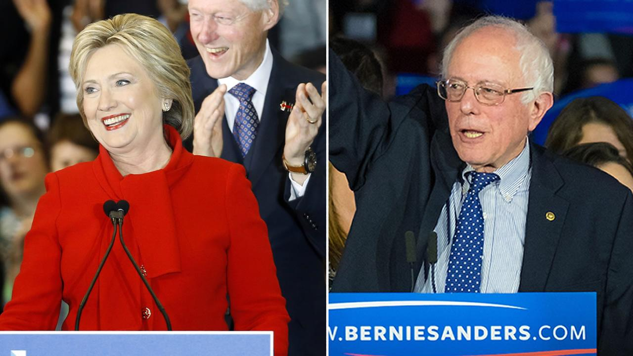 Hillary Clinton is claiming victory over Bernie Sanders in Iowas Democratic Caucus.