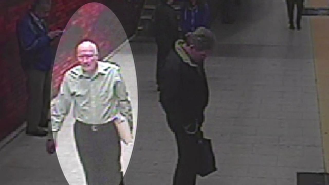 BART security cameras captured a missing 73-year old John Beck of Alameda at the 12th Street/City Center BART station and his family released the image Feb. 13, 2014.
