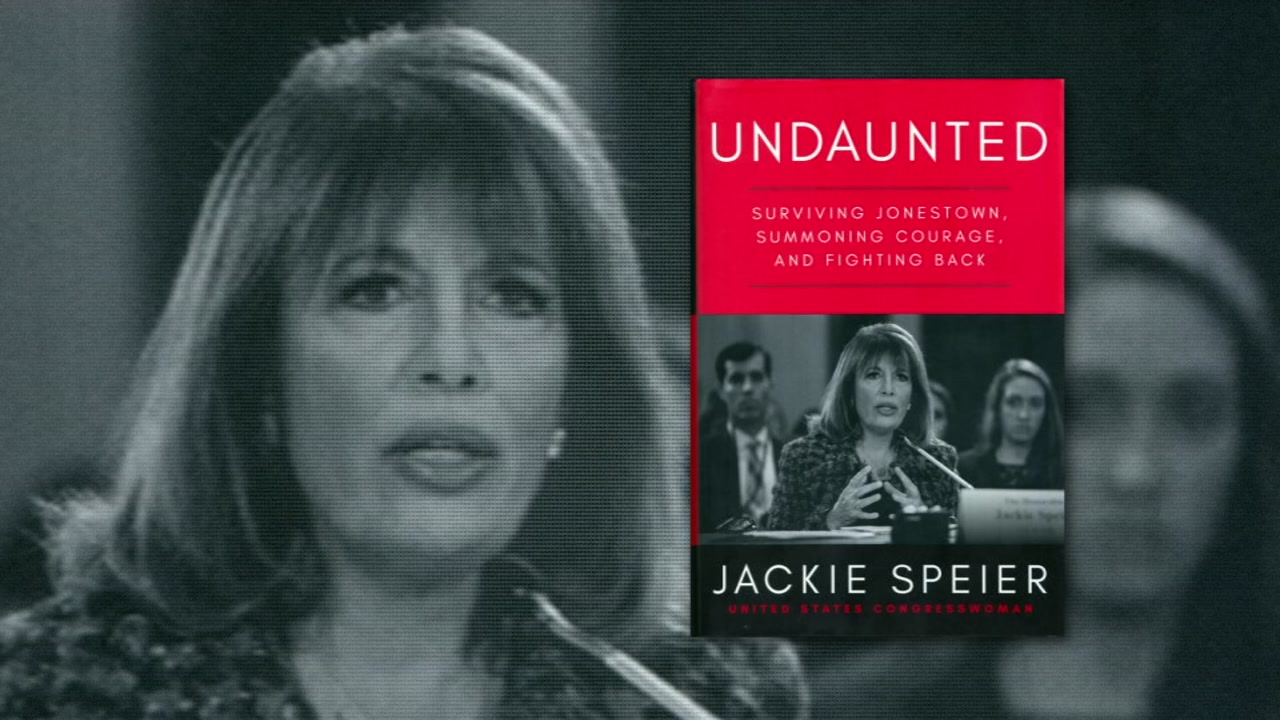 The Congresswomans new book, Undaunted, in which she shares some very difficult things about her life.