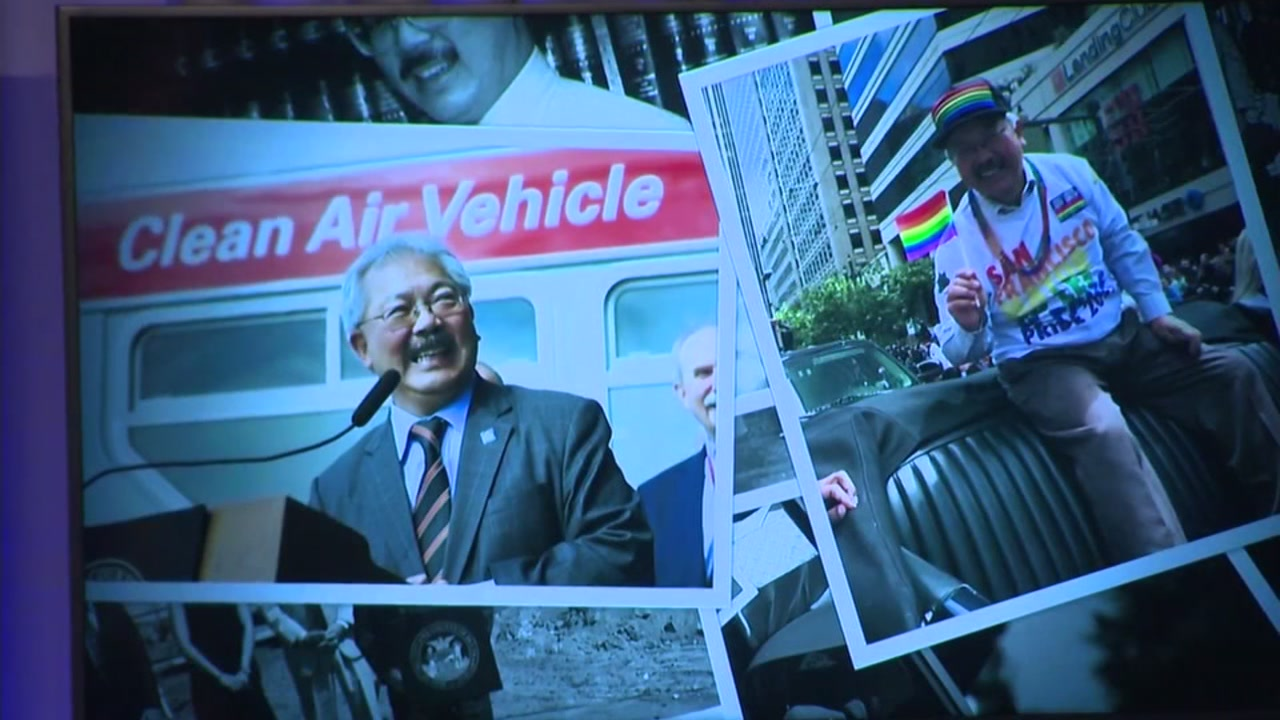 Eight honorees were inducted into the Hall of Fame, including the late San Francisco Mayor Ed Lee.