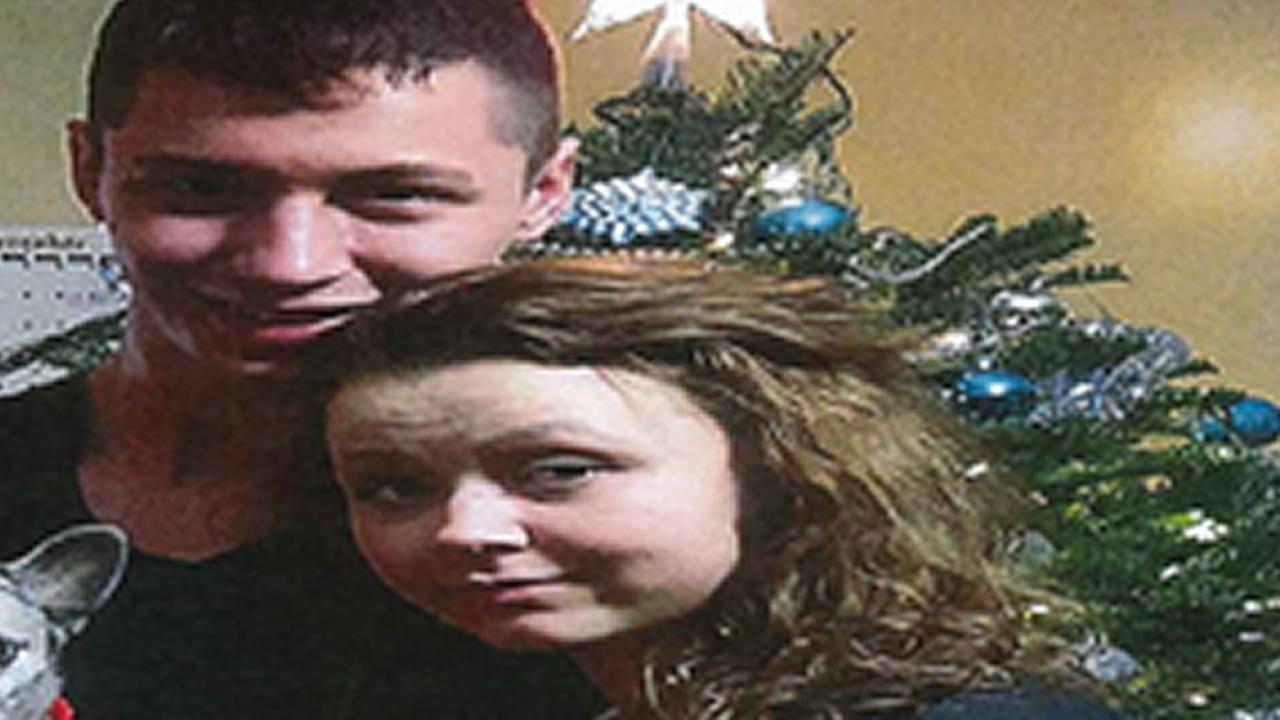 This image shows missing East Palo Alto, Calif. teeanger Hope Seagler, 15, with her boyfriend, Andrew Joseph Newman, 19, of Petaluma.