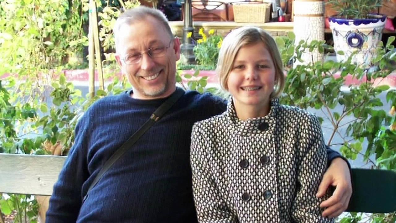 Vladimir Matyssik and his daughter Kristina Matyssik