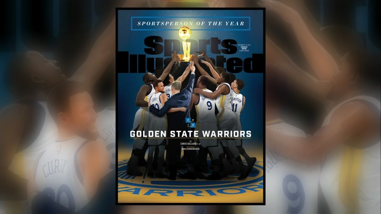 The Warriors have been named Sports Illustrated 2018 Sportsperson of the Year, a rare move for the magazine.