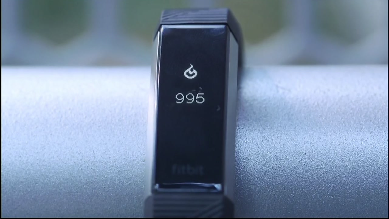 A fitness tracker is pictured in this undated file photo.