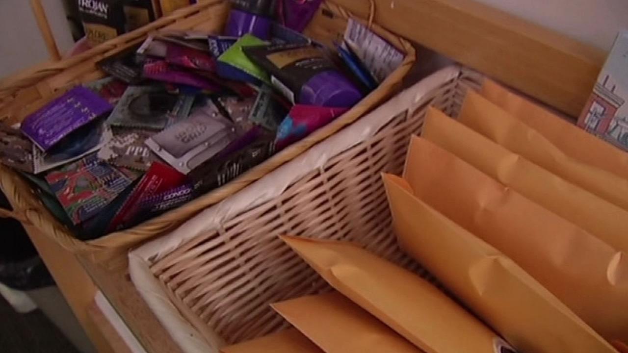 condoms at school