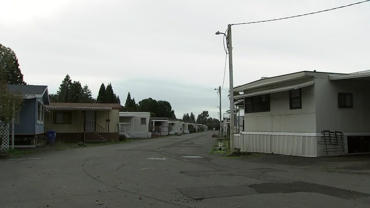 Journeys End Mobile Home Park in Santa Rosa, Calif.