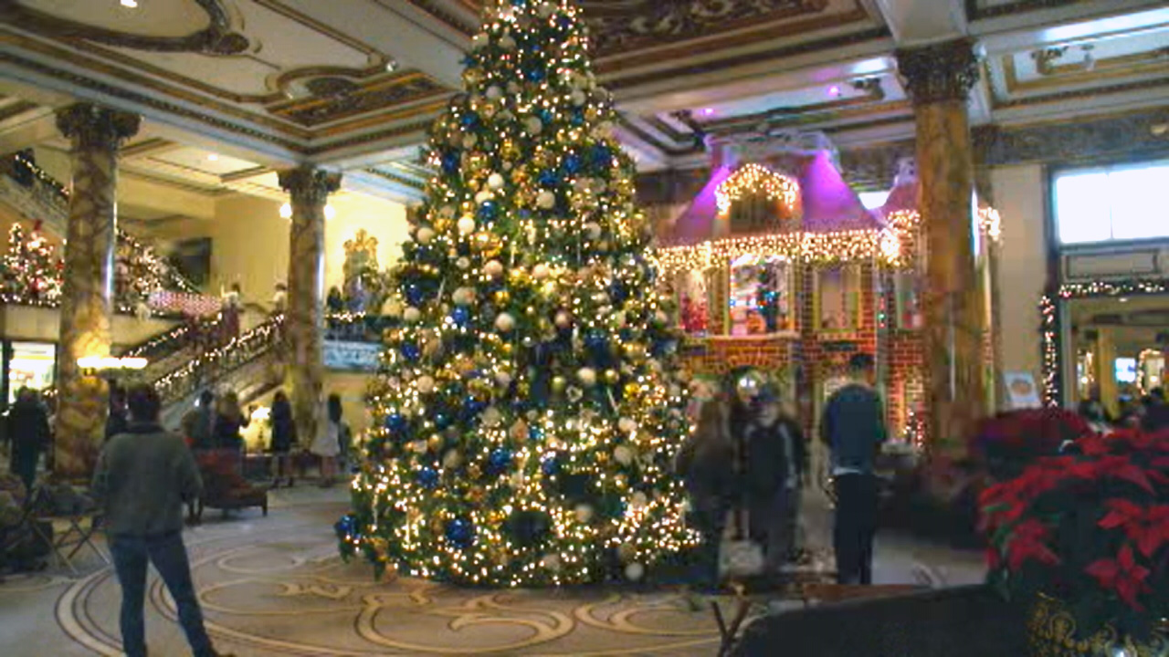 One of the biggest holiday attractions in San Francisco is the life-size gingerbread house at The Fairmont.