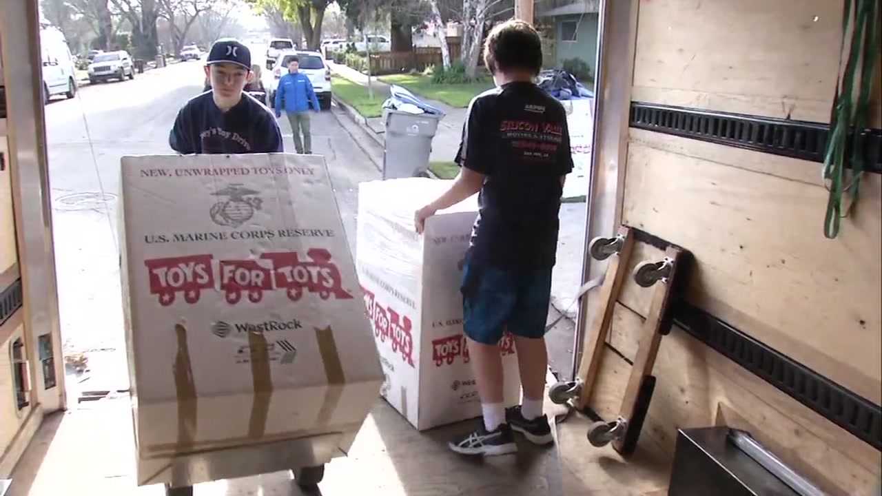 Joey Childs has collected thousands of donations for Toys for Tots since 2012, but this winter, he hit a new personal record-- 1,558 toys donated.