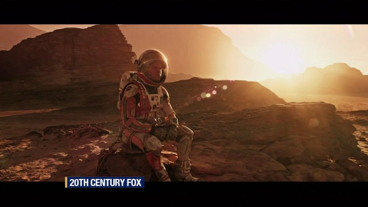 This undated image shows actor Matt Damon in The Martian.
