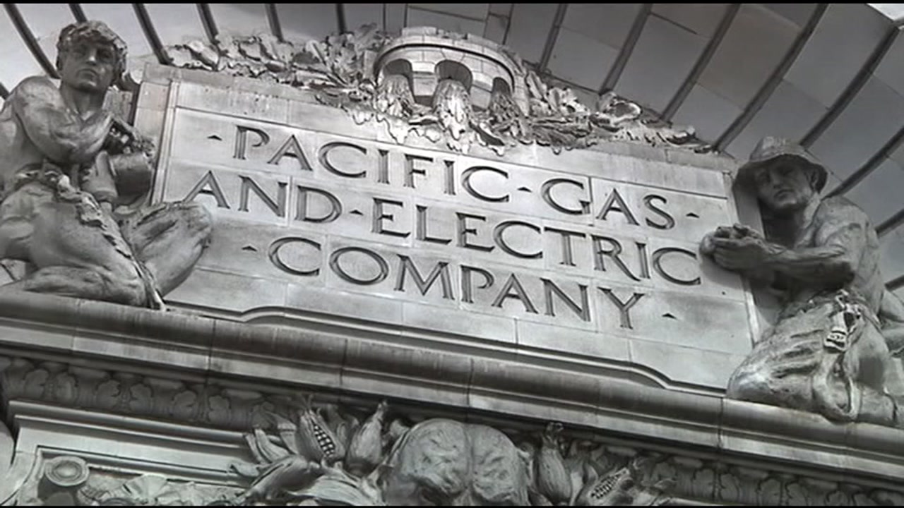 A Pacific Gas and Electric building is seen in this undated image.