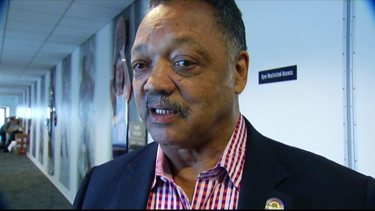 The Rev. Jesse Jackson attended a Golden State Warriors practice in Oakland, Calif. on March 3, 2016.