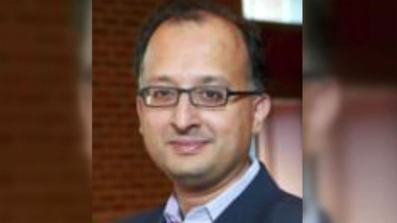 This image shows University of California law school dean Sujit Choudhry who has been accused of sexual harassment and announced March 9, 2016 he was on indefinite leave.