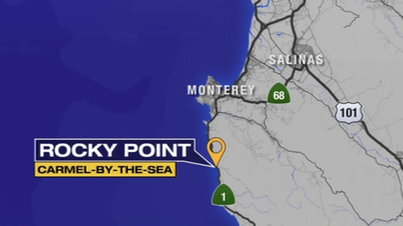 Monterey Co. officials are searching for a boy who was swept into the water off Hwy. 1  between Carmel-by-the-Sea and Big Sur on Wednesday, March 10, 2016.