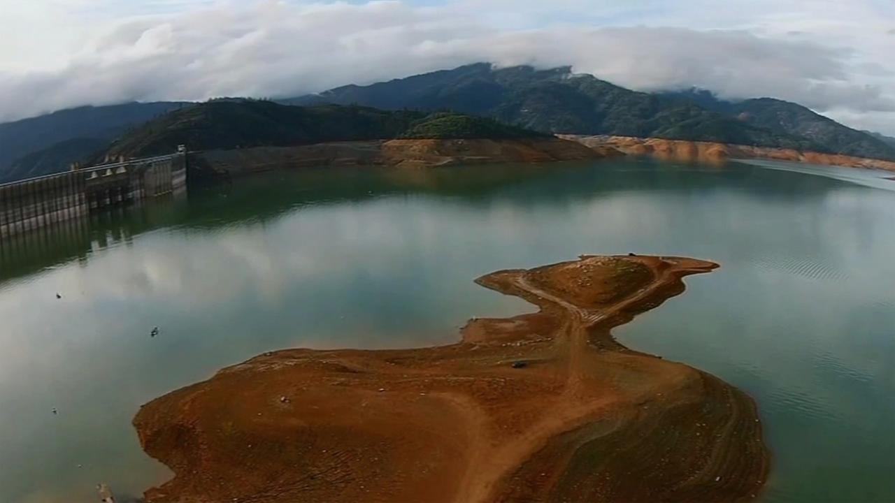 FILE: Shasta Lake in Shasta County, California.