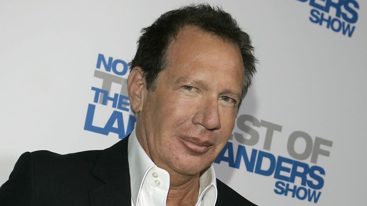 Actor Garry Shandling arrives at the wrap party and DVD release for The Larry Sanders Show in Beverly Hills, Calif., Tuesday, April 10, 2007. (AP Photo/Chris Carlson)