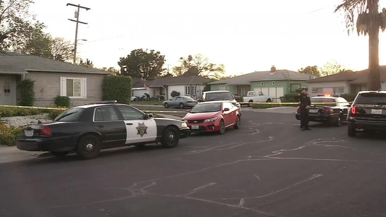Police are investigating a drive-by shooting in Concord that injured a child March