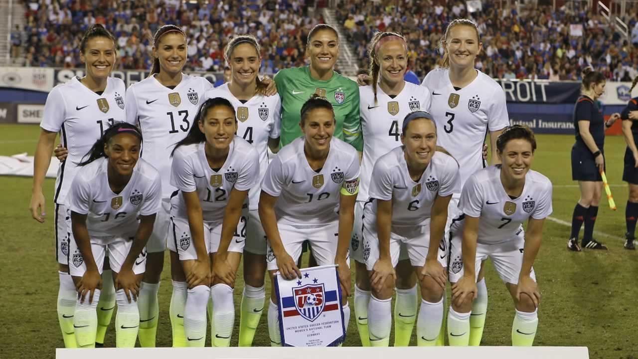 us women's team files wage discrimination action vs. us soccer