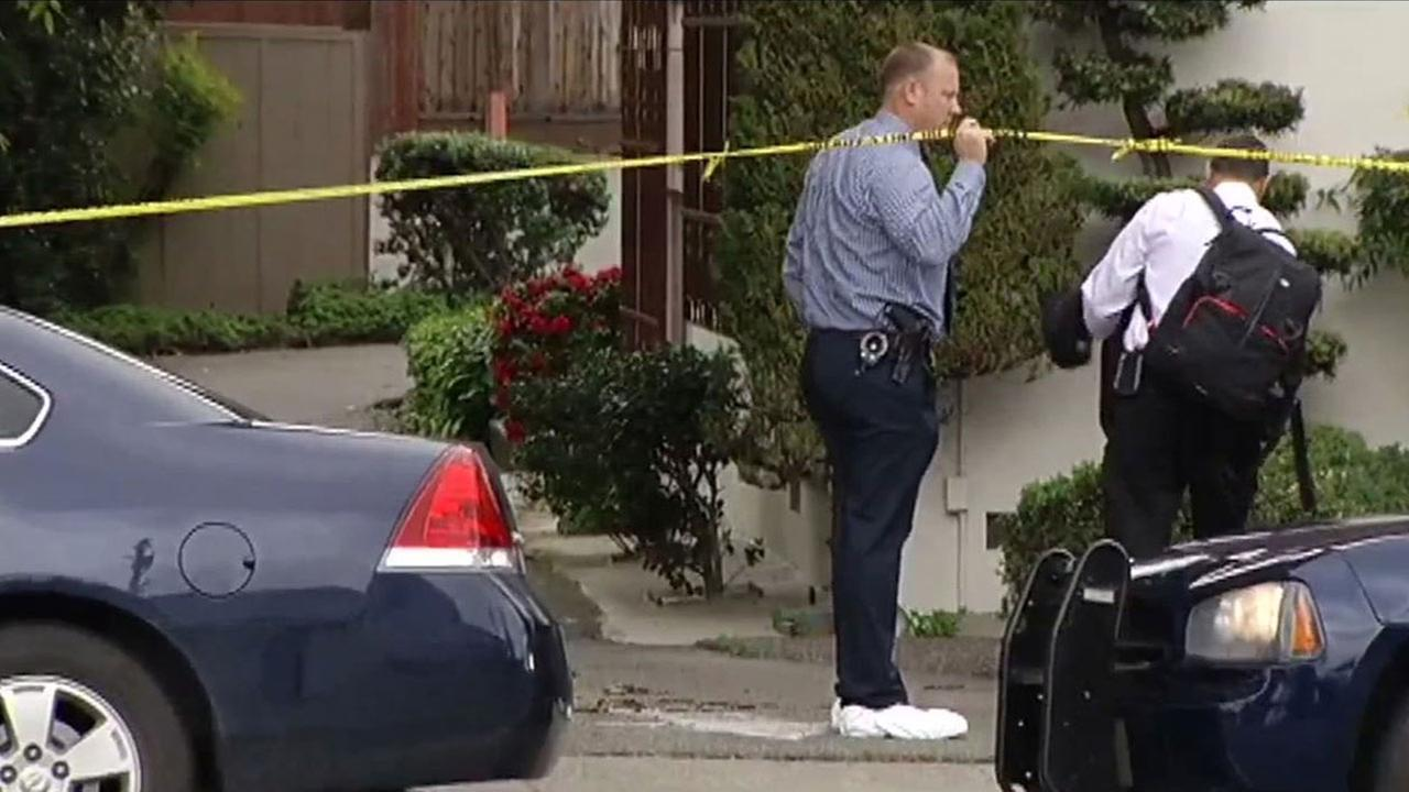 Police investigate fatal shooting of man in Castro Valley, Monday, April 11, 2016.