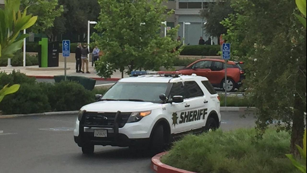 The Santa Clara County Sheriffs Department is investigating a death at Apples headquarters in Cupertino, California, Wednesday, April 27, 2016.