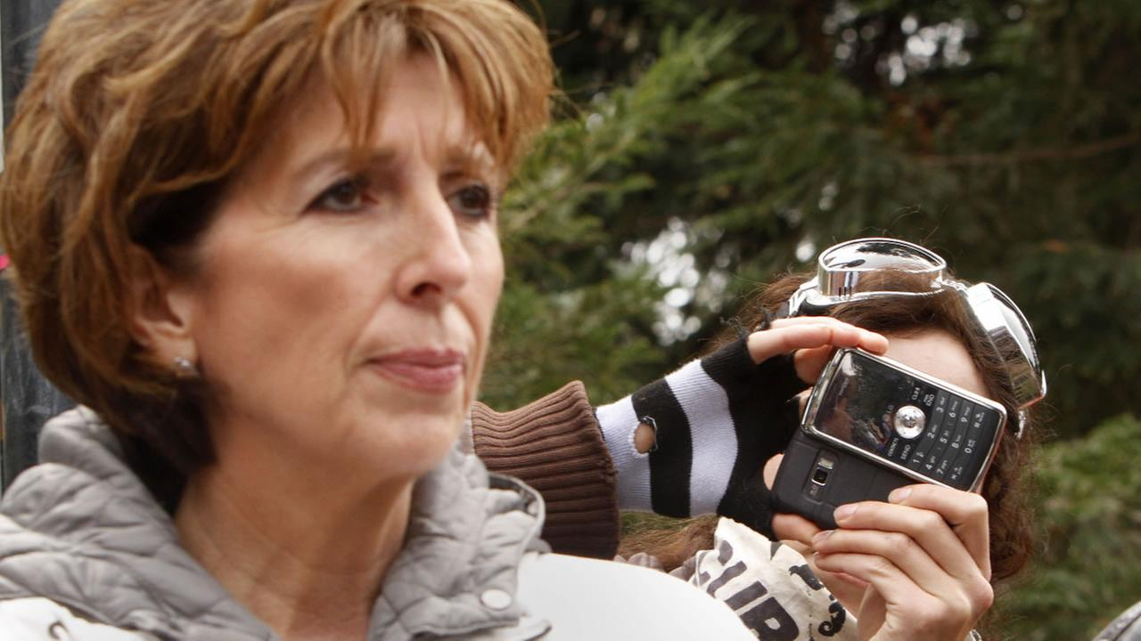 UC Davis Chancellor Linda Katehi is seen on the campus in Davis, Calif., Tuesday, Nov. 22, 2011. (AP Photo/Rich Pedroncelli)