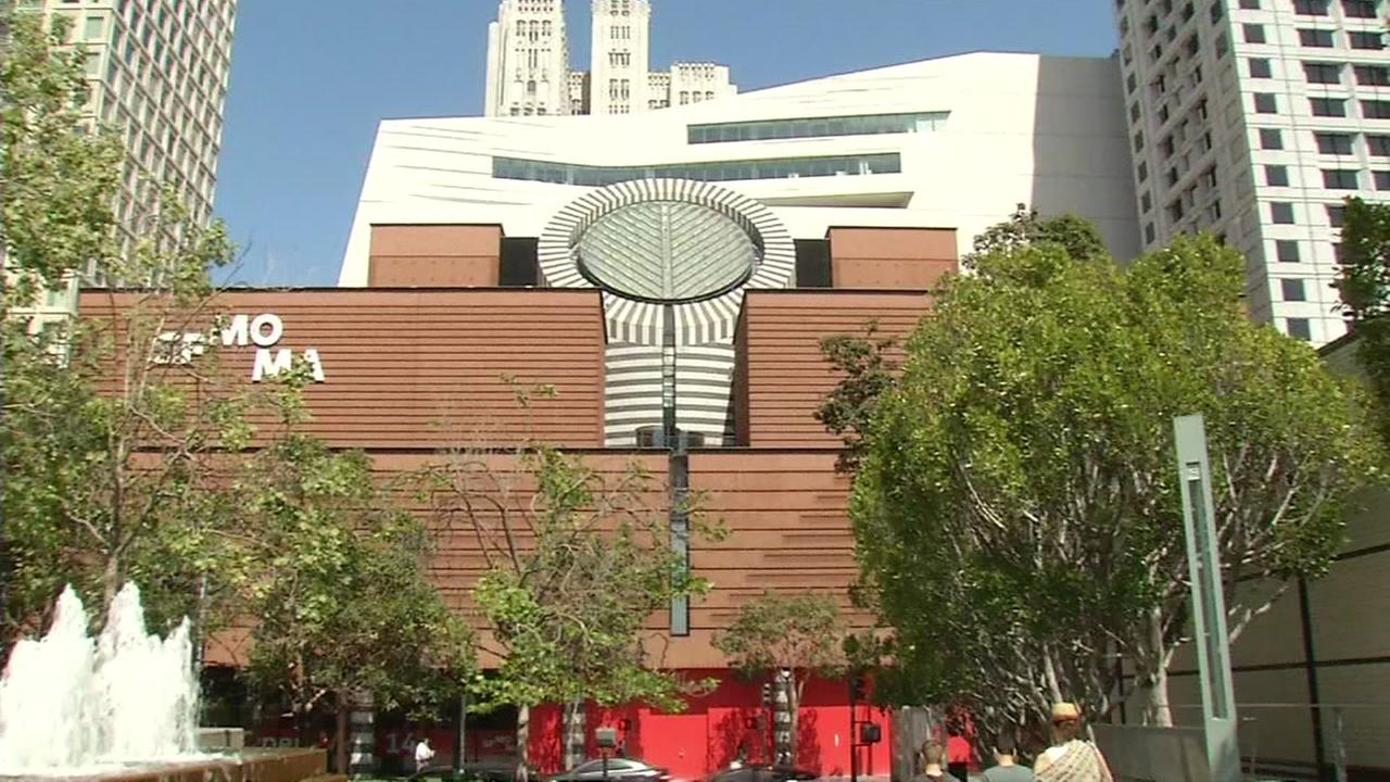 This image from April 2016 shows the exterior of the San Francisco Museum of Modern Art.