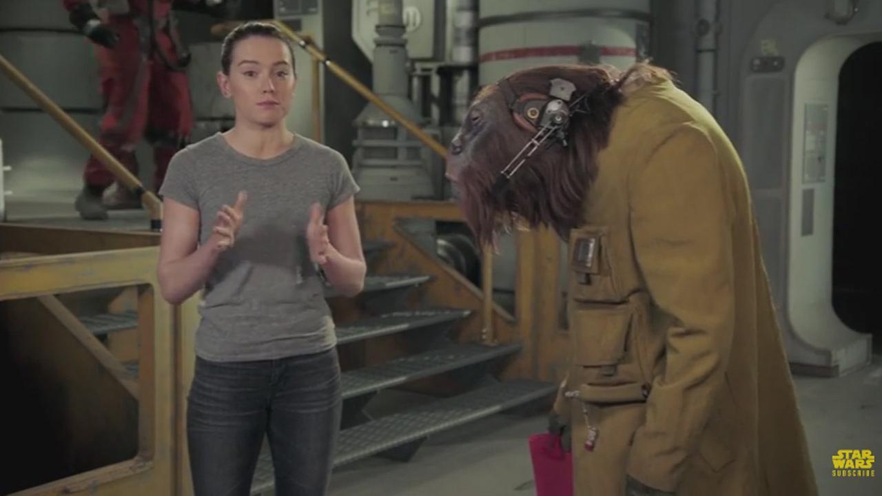 Star Wars star Daisy Ridley.