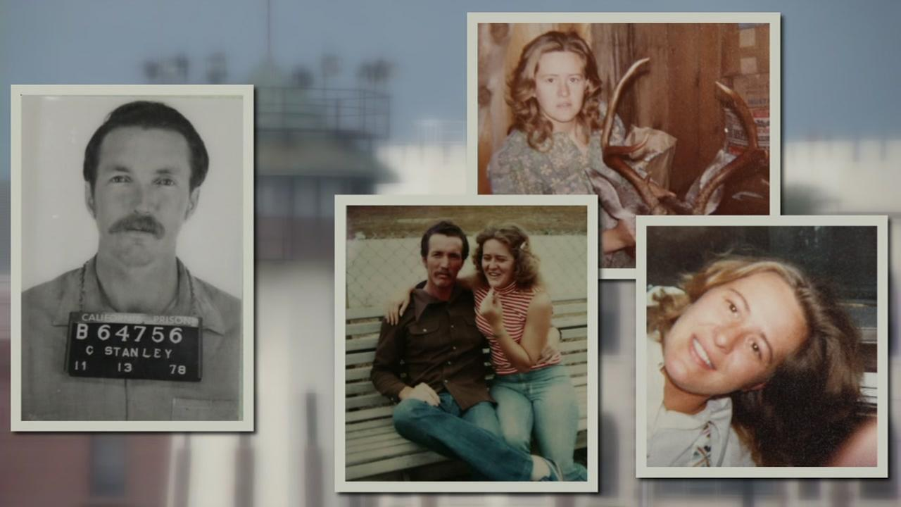 These undated images show Gerald Stanley, a serial wife killer, who is currently on death row at San Quentin State Prison in San Quentin, Calif.