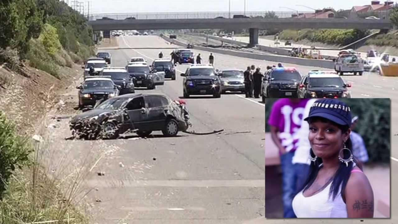 Police say 25-year-old Shanique Marie was killed on Highway 4 in Pittsburg, Calif. on Wednesday, May 11, 2016.