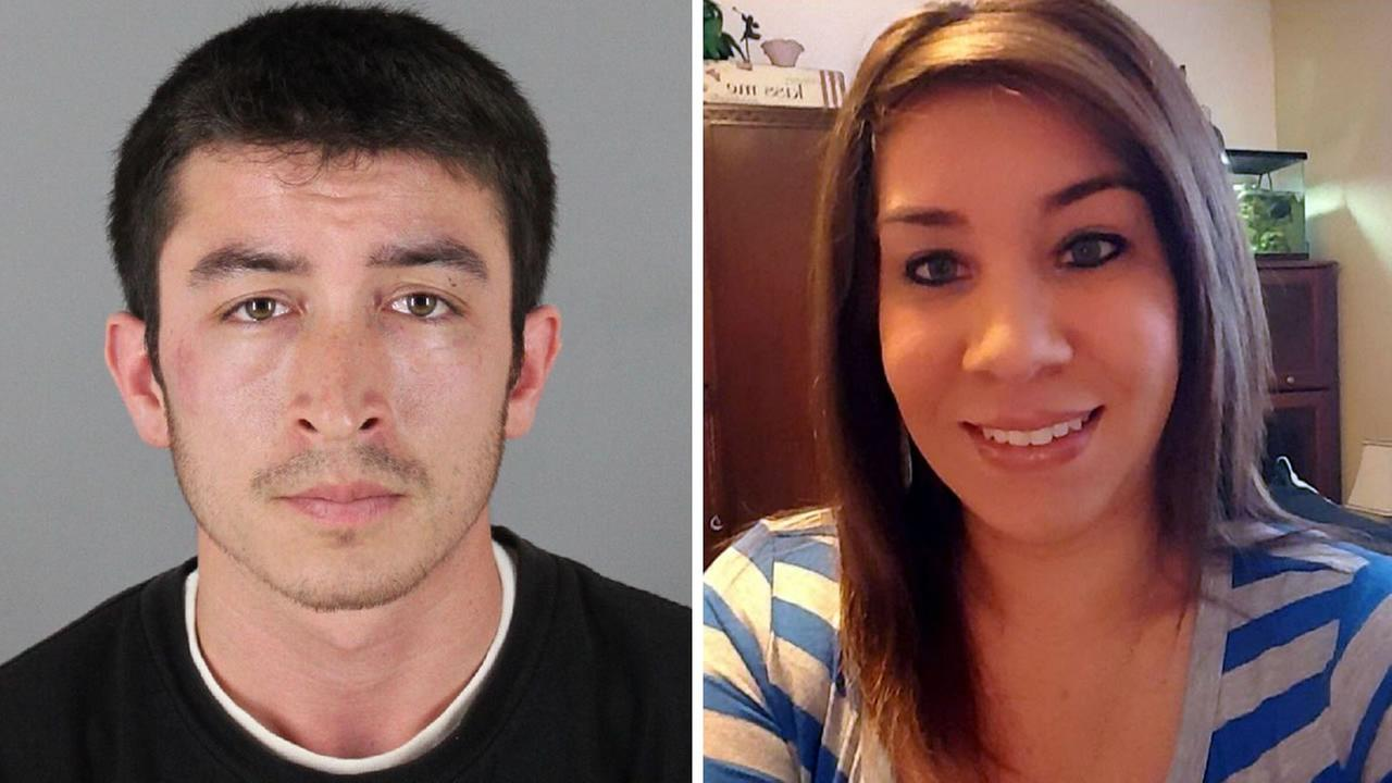 A man named Ricardo Colindres and his his ex-girlfirend named Marissa-Johnson are seen in this undated image.
