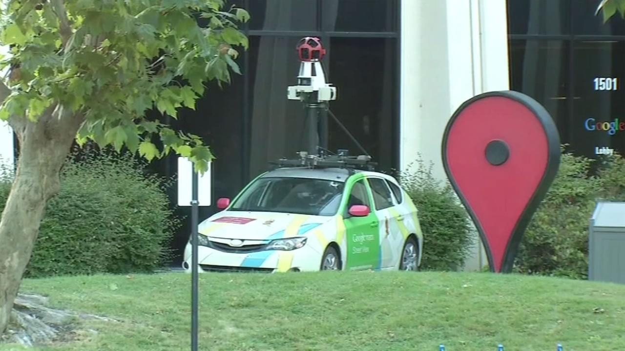 Police say a person threw two incendiary devices at a Google campus building in Mountain View, Calif. on Friday, May 20, 2016.