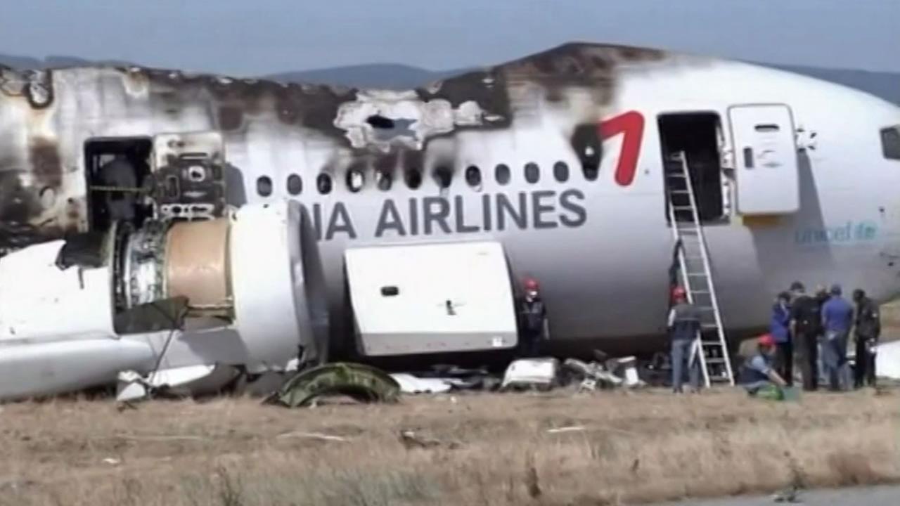 Asiana Airlines crash.