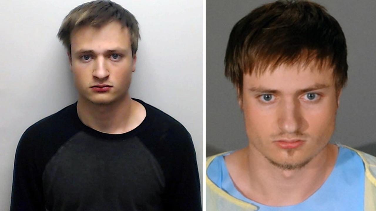 James Howell, who police said had an arsenal in his car in Santa Monica, was arrested June 12, 2016 (right). Police records show Howell was also arrested Oct. 15, 2015 (left).