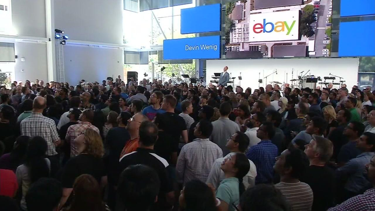 eBay held a grand opening for the companys new building in San Jose, Calif. on Monday, June 27, 2016.